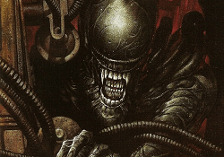 The cover of Aliens: Nightmare Asylum, one of the best Alien books