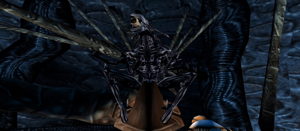 The Empress from the Aliens vs. Predator 2 PC game