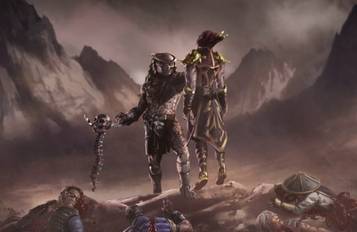 The Mortal Kombat XL Predator Ending