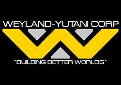 The Weyland-Yutani logo