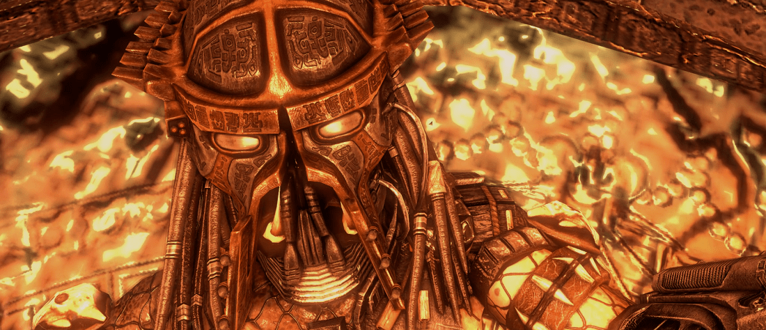 Lord Predator's Mask