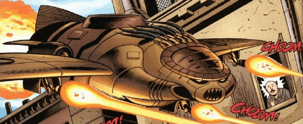 The Bird of Prey from JLA vs. Predator