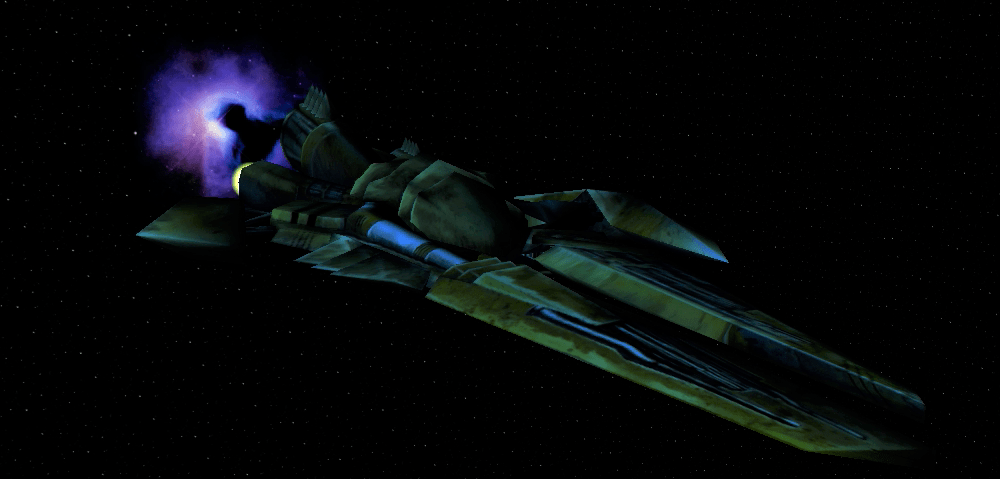 The Royal Predator Ship from the Aliens vs. Predator 2 PC Game