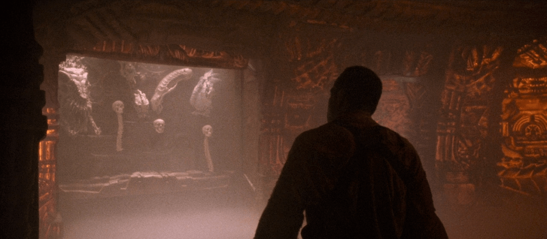 The Lost Tribe Trophy Room from Predator 2