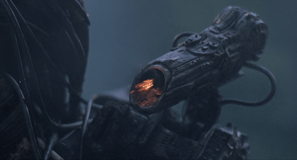 The Shoulder Cannon from the first Predator