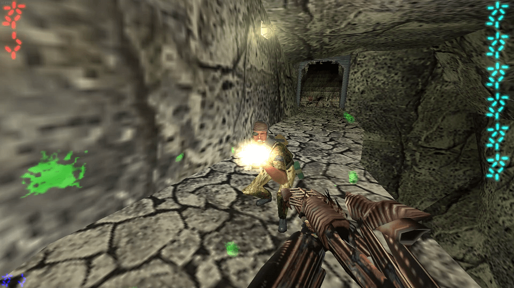 The Speargun from the first Aliens vs. Predator PC game