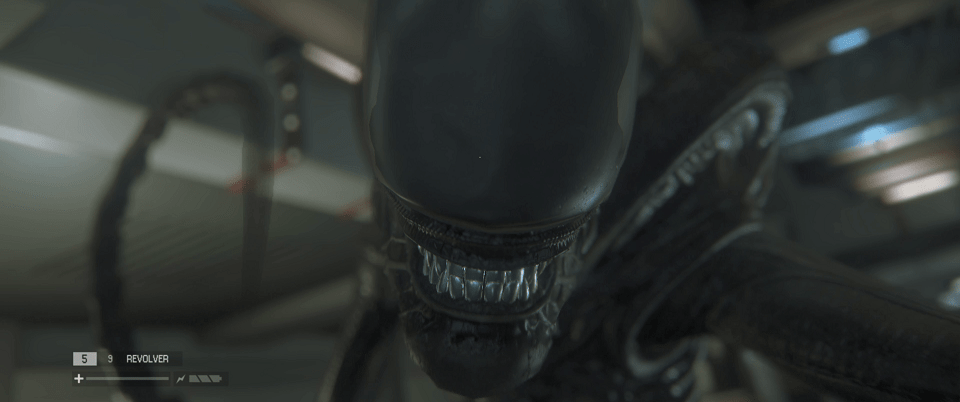 Stompy in Aliens: Isolation