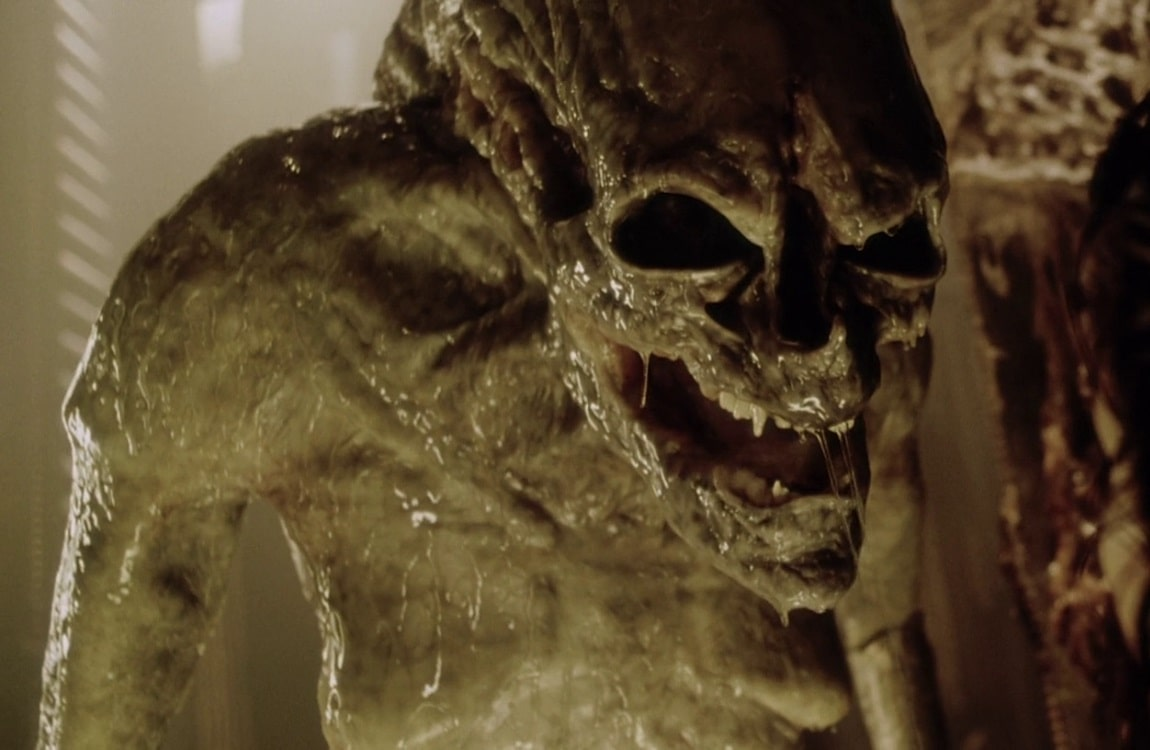 The Newborn from Alien: Resurrection